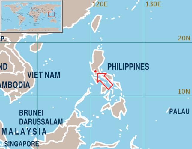 Manila Philippines World Map.World Weather Information Service Metro Manila