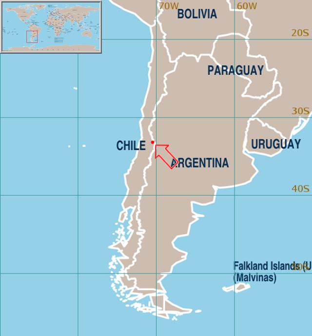 World Weather Information Service Santiago