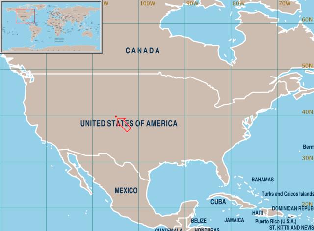 World Weather Information Service Denver Colorado - Denver colorado in us map