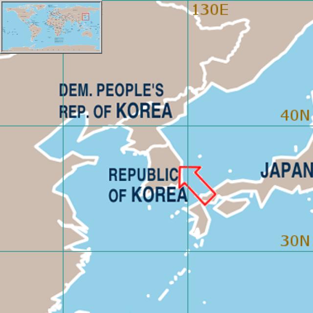 World Weather Information Service Republic of Korea