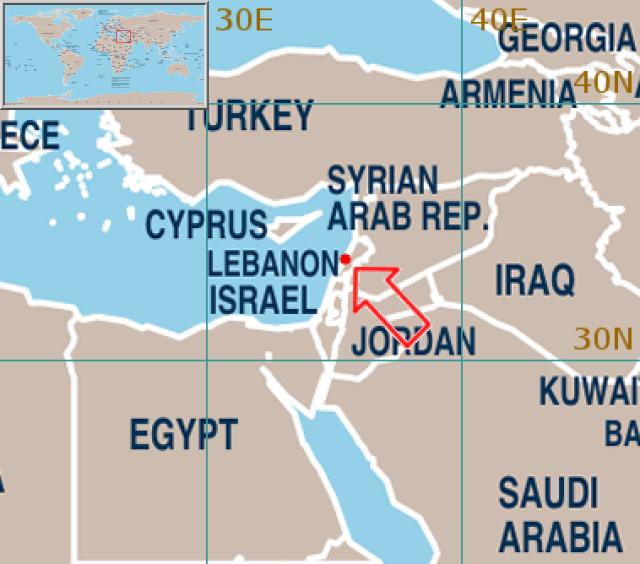Beirut World Map – Partistunisie
